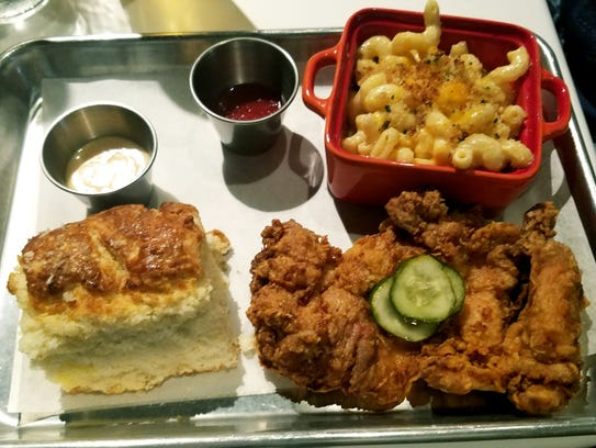 The District Table & Bar's Sweet Tea Fried Chicken