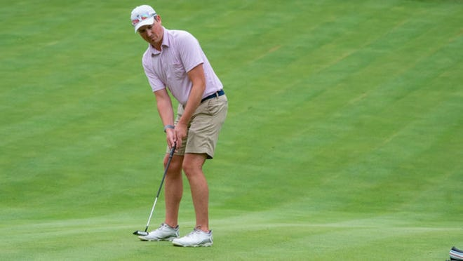 Brandon Parker of Worcester CC shot par 72 Tuesday and is tied for third entering the final round of the Mass. Mid-Amateur Championship.