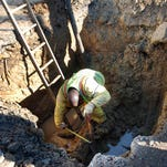 City of Jackson Water/Sewer Division repairs