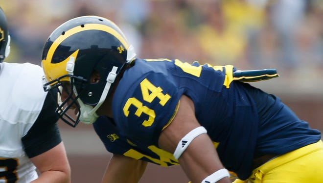 Michigan defensive back Jeremy Clark