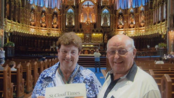 Dolores and Jerome Supan of St. Stephen at Notre Dame in Quebec City.