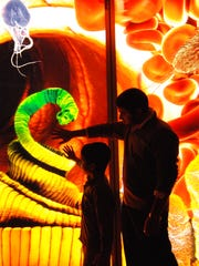 The Liberty Science Center's exhibits teach visitors about the body and much more.
