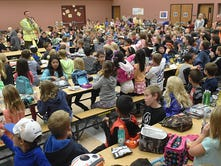 Squeezing in students: Washoe elementaries sacrifice space at every corner