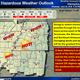Severe thunderstorm warning for West Tennessee