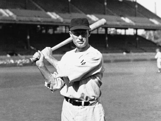 Sam Rice, outfielder for the Washington Senators, Sept.