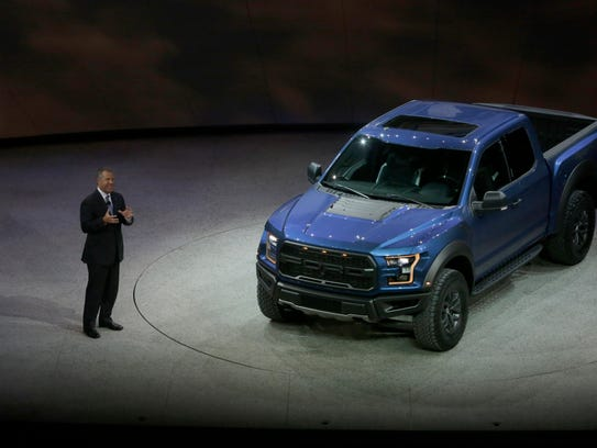 Ford's Joe Hinrichs,  Executive Vice President and
