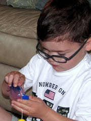 Enzo Mastrantonio, 4, is unaware he has an extremely rare and potentially fatal genetic disorder.