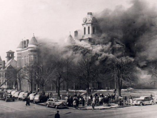 city hall fire