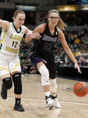 Northwestern's Madison Layden (33) (Photo: Matt Kryger/IndyStar)