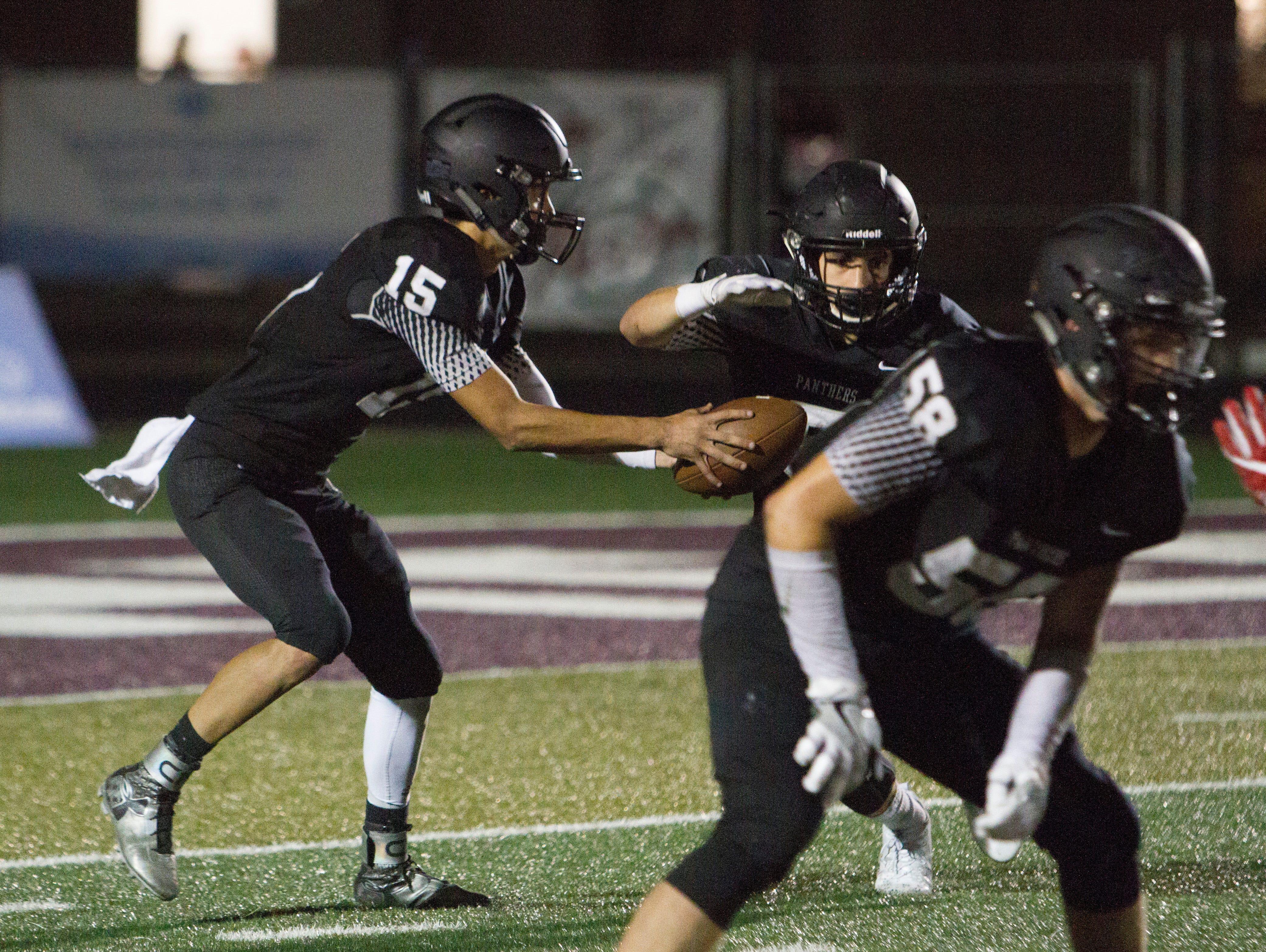 Pine View High School football defeats Uintah High 47-3 Friday, August 26, 2016.