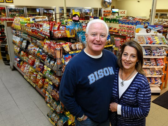 Mark and Judy Schulte opened Schulte's 38th Street Store and Coffee House 25 years ago.