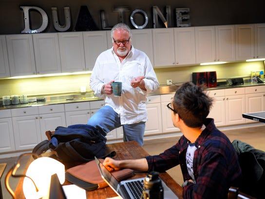 Dualtone Music Group founder Scott Robinson talks with