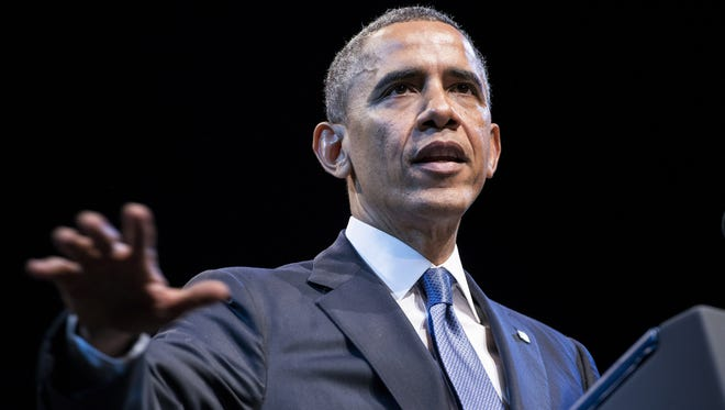 President Obama has touted improvements to the health care website and says the law is here to stay.
