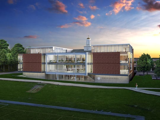 A rendering of the planned expansion of Iona's School