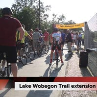 Lake Wobegon Trail extension opens