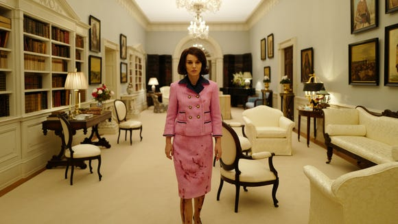 5437f0e6e202 Natalie Portman on the  symbolic  power of Jackie Kennedy s pink suit