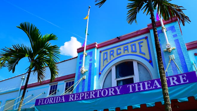 Florida Repertory Theatre is located in the historic Arcade Theatre in downtown Fort Myers.