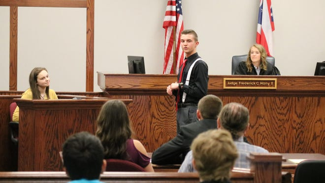 Port Clinton High School junior students got a firsthand look at the work involved in local government on Tuesday when they participated in a mock trial at Ottawa County Municipal Court.