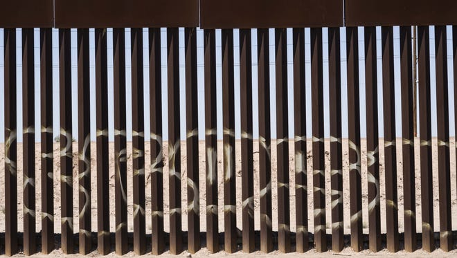 The Trump administration is taking credit for a decline in border crossings.