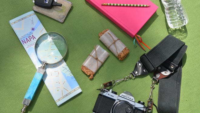 For energy or on-the-road snacking, pack homemade cereal bars on your next trip.