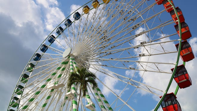 During the 2017 Wisconsin State Fair, the traveling WonderWheel will offer 10-minute rides with potential visibility of 10 miles to people at the top of the ride.