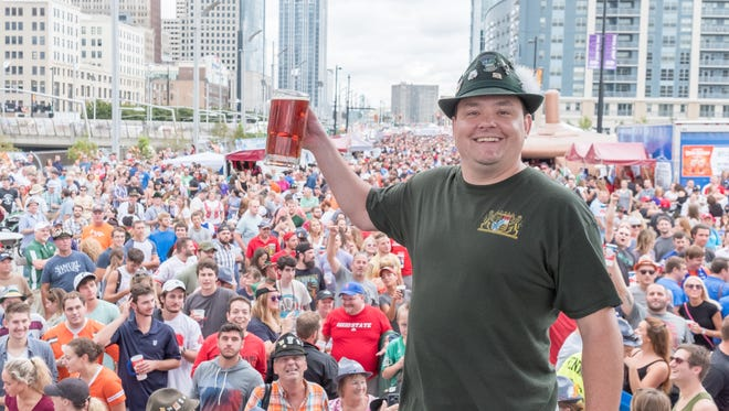 Cincinnati hosts America's largest Oktoberfest celebration. The event brings more than 30 food and beverage vendors downtown with German pastries, pretzels and sausage, and a variety of beers.