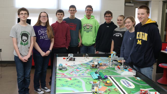 The Port Clinton Middle School Redskin Tech Team advanced to the Ohio FIRST LEGO League State Championship in Dayton this weekend.