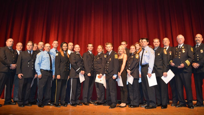 Twenty Dutchess County volunteer firefighters, representing 15 local fire departments, were recognized May 23rd by the New York State Office of Fire Prevention and Control at a graduation ceremony held at Dutchess Community College in the Town of Poughkeepsie.