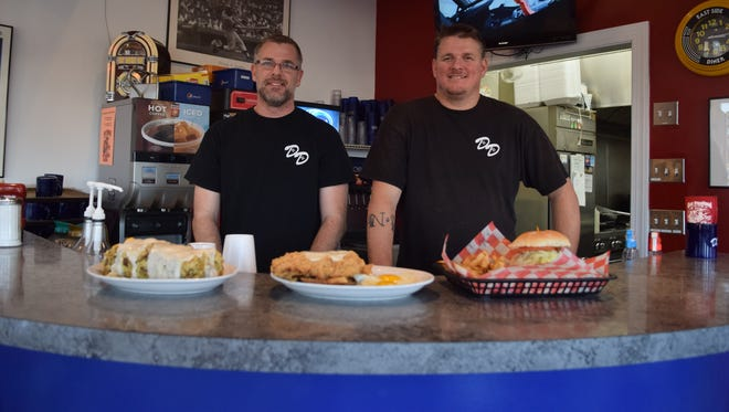 From left are Decatur Diner co-owners and brothers Matt and Bill Rados.