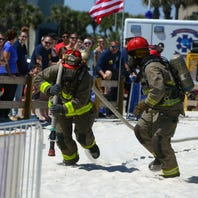 Firefighters will compete on Pensacola Beach at annual skills competition