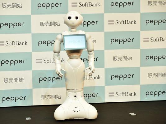 JAPAN-SOFTBANK-ROBOT