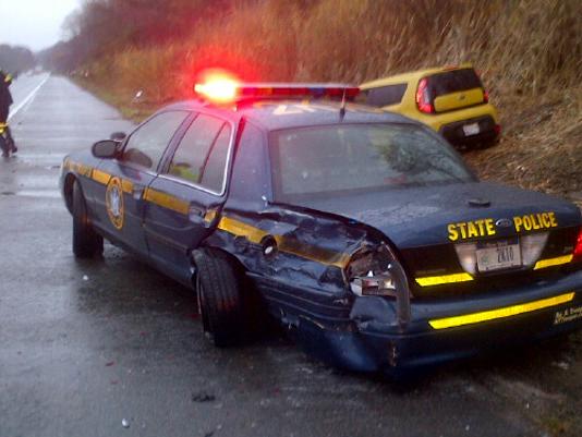 Interstate 84 collision.