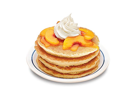 The Rooty Tooty Fresh N' Fruity at IHOP.