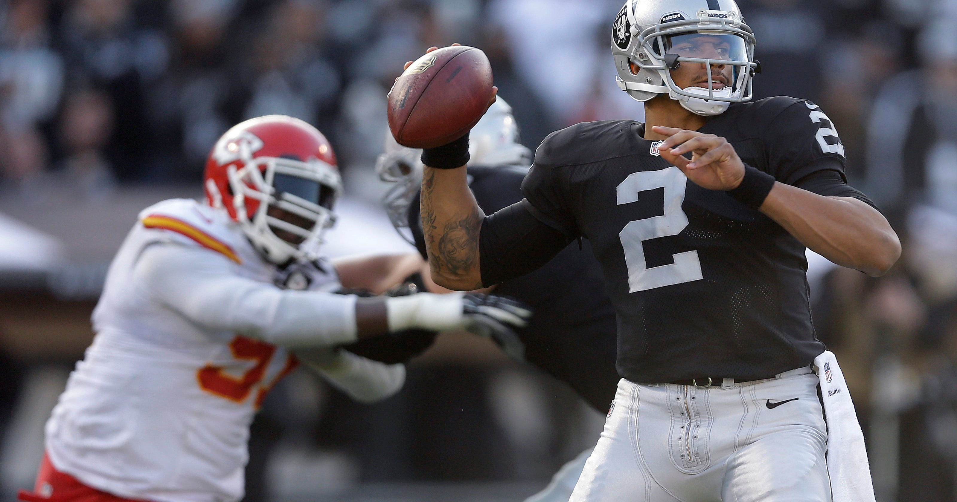 Rough ride with Raiders made Pryor's position change easier