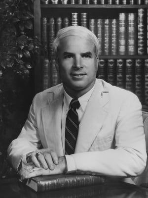 John McCain in 1982.