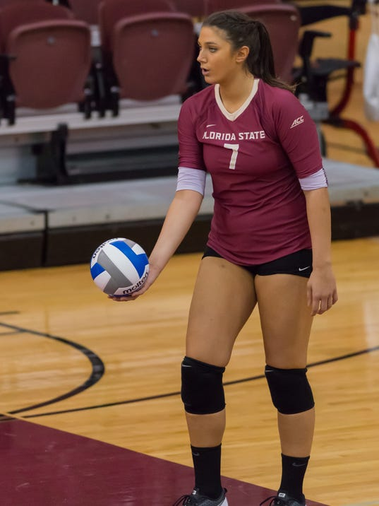 FSU Women's Volleyball defeats Arkansas Little Rock 3-0 during the Home2 Suites by Hilton Tallahassee Seminole Tournament