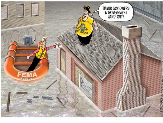 Climate change and flooding.