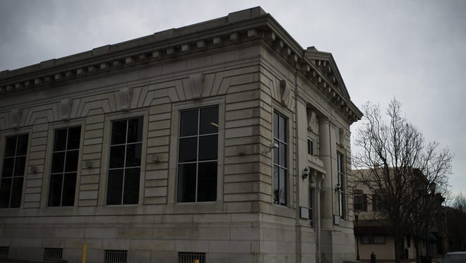 The former National State Bank on Market Street in Camden. The building will soon be home to City Invincible Architecture, Interiors, Urban Design.