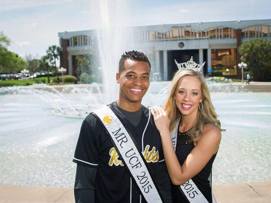 Brittany Vasile and Dominique Harris were named Mr.