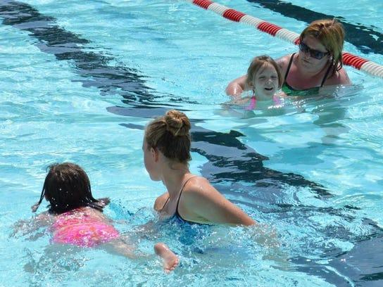Swimming fundamentals at Camp Splash (2)