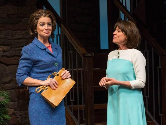 Constance Macy and Brigitt Markusfeld in GUESS WHO S COMING TO DINNER. Photo.jpg
