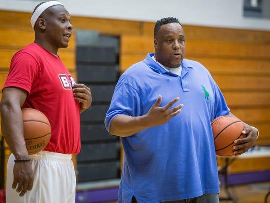 Jeremiah Davis worked alongside Bonzi Wells and coach