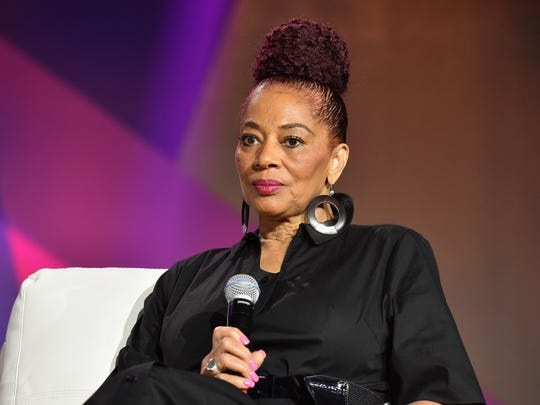 Terry McMillan appears at the 2016 Essence Festival on July 1, 2016, in New Orleans.