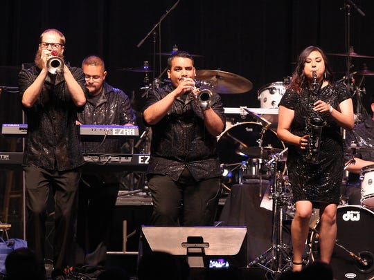 San Angelo's own, Funky Munky, opened for The Temptations at Foster Communications Coliseum Thursday, May 5, 2017.