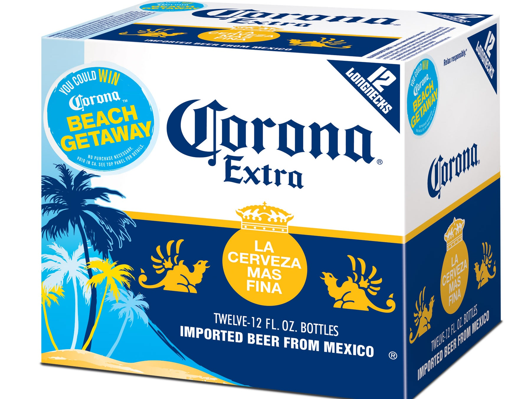 Corona Extra  No Reservations Needed Sealed Package Of 100