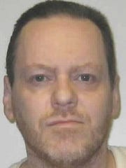 A mugshot photo of Ricky Sechrest, 56, who was serving two death sentences for the 1983 murders of 9-year-old Carly Villa and Maggie Schindler, 10. Sechrest died in prison in 2017. He was being held at the Northern Nevada Correctional Center.