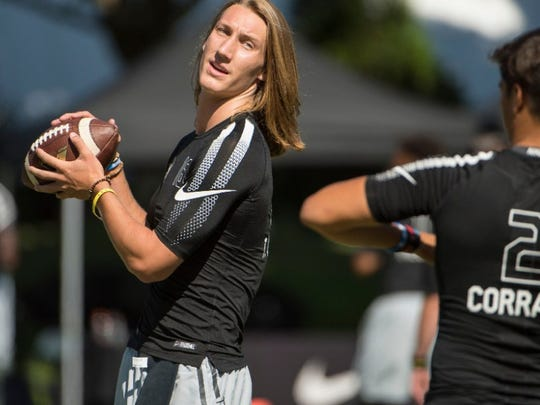 Clemson freshman quarterback Trevor Lawrence recently was named National Offensive Player of the Year by the Maxwell Football Club.