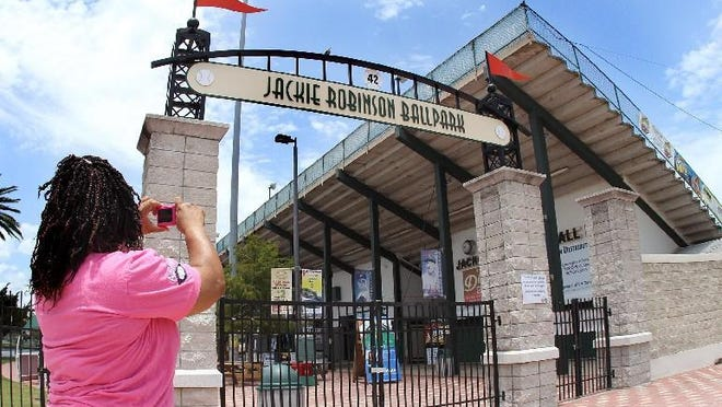 Jackie Robinson Ballpark is in the Elite 8 of Ballpark Digest's Best of the Ballparks competition.