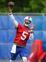 Quarterback Tyrod Taylor has never started a game in his four-year career.