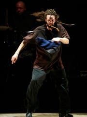 Savion Glover, pictured in 2004 at the McCarter Theatre